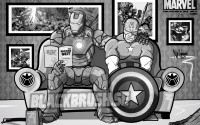 IRON AMERICA limited comic edition pcs2 KLAR!