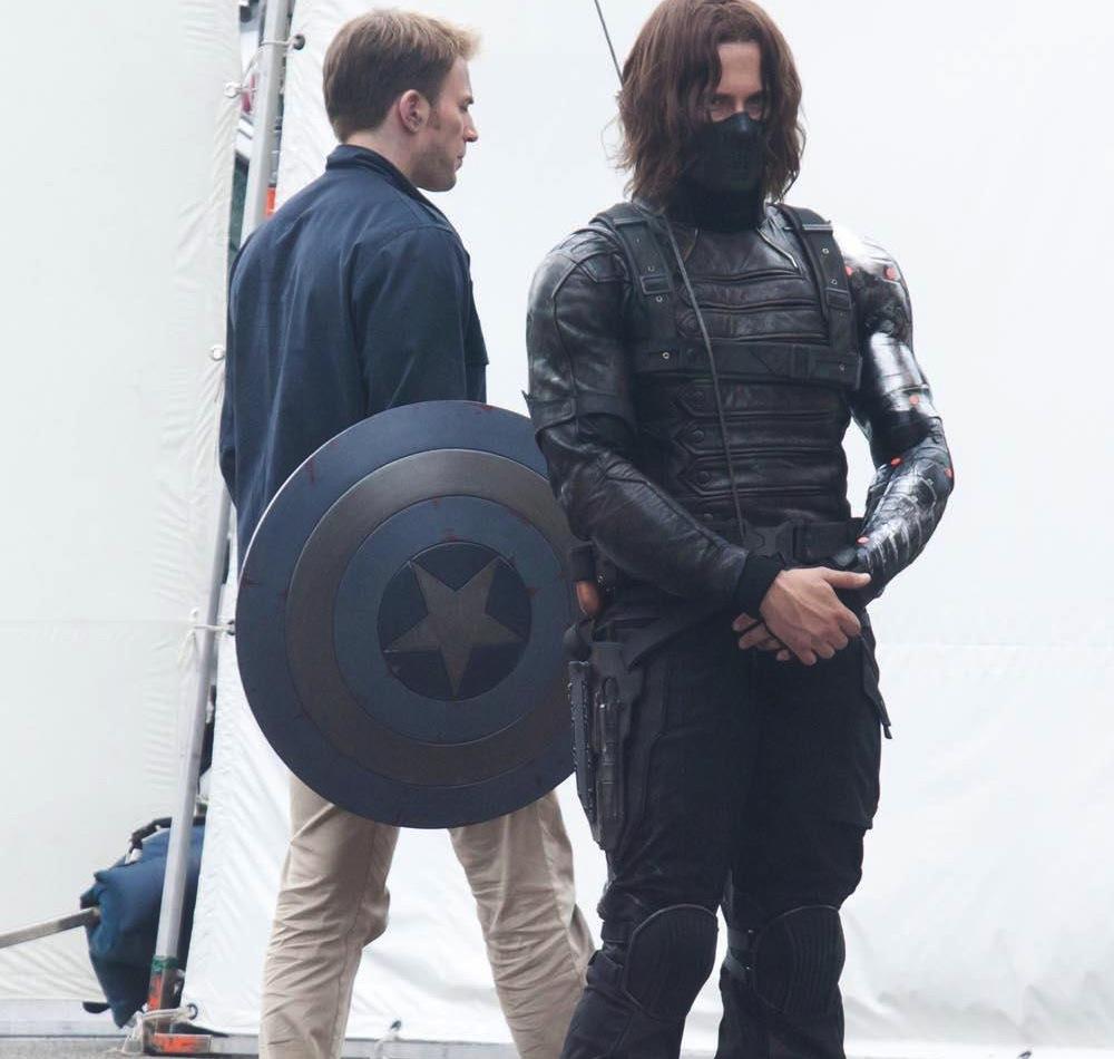 e57857968211 Här fightas Captain America utan sin dräkt mot filmens nye skurk The Winter  Soldier… Bakom kulisserna!