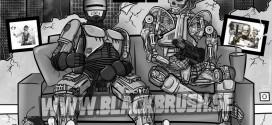 """""""Robocop or T-800″ Teckningen klar!"""