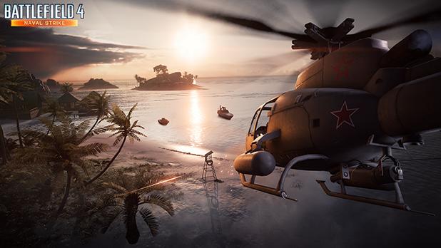Här under har ni de första bilder på Battlefield 4; Naval Strike.