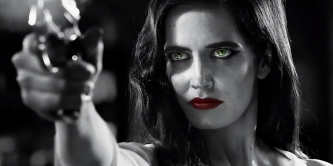 "Ny COOL trailer till ""SIN CITY 2 A DAME TO KILL FOR""!"