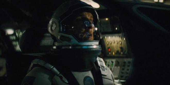 """Poster för Christopher Nolan's """"Interstellar"""""""