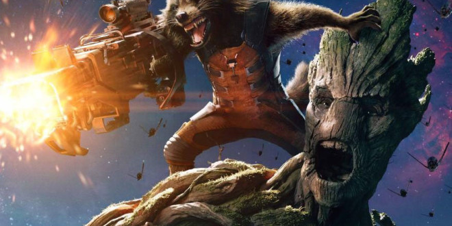 Ny minitrailer för Guardians of the Galaxy – Raccoon & Groot!
