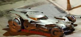 """Ny bättre bild och en video på Batmobilen ur nya """"Batman v Superman: Dawn of Justice"""""""