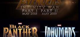 8 nya Marvel filmer presenterade, bl.a Inhumans & Black Panther!
