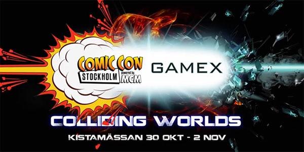 Comic Con Stockholm 2014