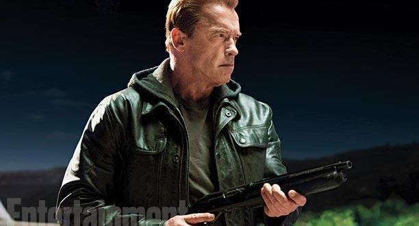 Bilder: Arnold Schwarzenegger som gamle TERMINATOR!