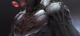 Två Coola Batman skiss som Cyborgs…