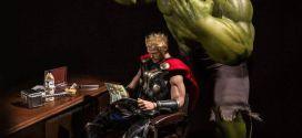 Hulk klipper Thors hår!?